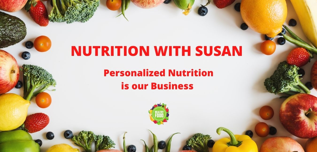 nutrition with Susan banner