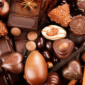 DIFFERENT KINDS OF CHOCOLATE